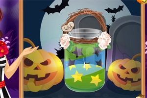 Betsy's Crafts: Halloween Candle Jar