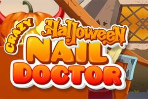 Crazy Halloween Nail Doctor