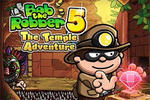 Bob The Robber 5: Temple Adventure