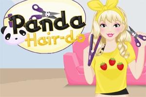 Panda Hair-do