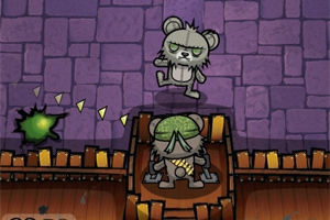 Teddy Bear Zombies: Machine Gun